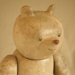 「PEANA 01」 40×20×15㎝ 檜、漆、金箔、彩色